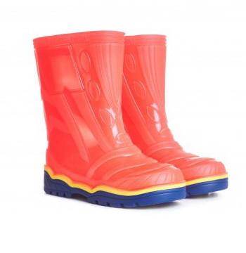 Резиновые сапоги детские Оранжевые Для мальчика и девочки