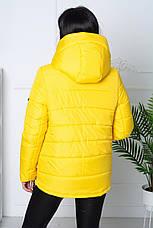 Жіноча модна тепла куртка (3 кольори), фото 3