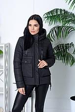 Жіноча модна тепла куртка (3 кольори), фото 2