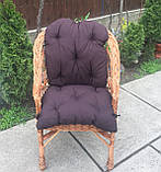"""Кресло """"Х. №1"""" с коричневой подушкой, фото 3"""