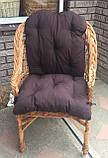 """Кресло """"Х. №1"""" с коричневой подушкой, фото 4"""