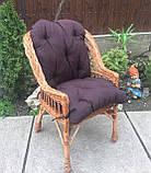 """Кресло """"Х. №1"""" с коричневой подушкой, фото 2"""