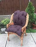"""Кресло """"Х. №1"""" с коричневой подушкой, фото 5"""