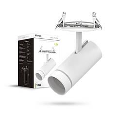 Накладной поворотный светодиодный светильник Feron AL196 белый