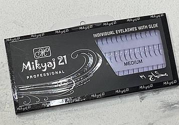 Пучковые ресницы 3D Mikyaj Medium