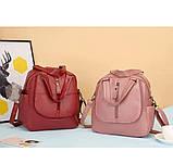 Женская сумка-рюкзак трансформер, фото 4