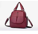 Женская сумка-рюкзак трансформер, фото 7