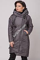 Женское демисезонное пальто Damader 12031