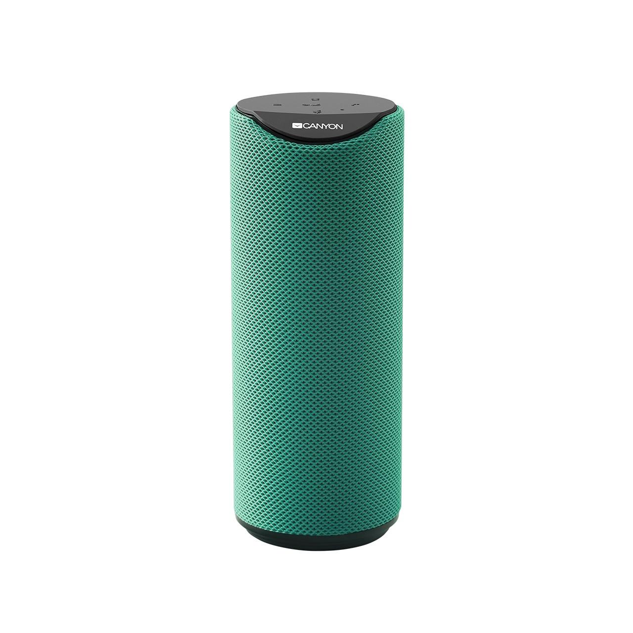 Колонка Bluetooth Акустическая система Canyon CNS-CBTSP5G Green