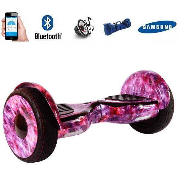 Гіроборд Smart Balance Wheel 10.5 сігвей Космос рожевий