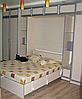 Модульная система для спальни с  вертикальной кроватью-трансформер