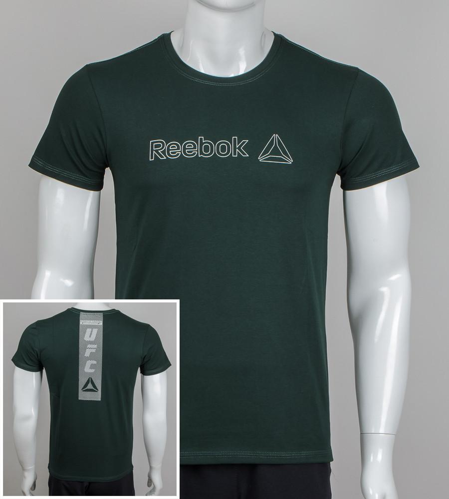 Футболка мужская Reebok UFC (2044м), Т.Зелёный