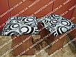Чехлы на табуретки комплект 4 шт на резинке (сидушка на табурет, стул) №25, фото 5