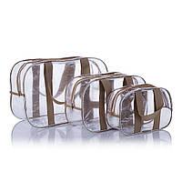 Набор прозрачных сумок в роддом Nika Torri (S. M. L)