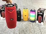 Колонка зі світломузикою, USB, SD, FM, Bluetooth, 1-динаміком та антеною 18см*8.5 см MF-206, фото 4