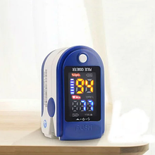 Портативний пульсометр оксиметром на палець Pulse Oximeter LK87