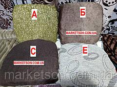 Чехлы на табуретки комплект 4 шт на резинке (сидушка на табурет, стул) №25, фото 3