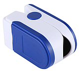 Пульсометр оксиметр на палец (пульсоксиметр), фото 6