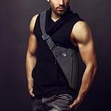 Мужская сумка через плечо, мессенджер Cross Body, фото 3