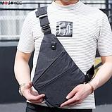 Мужская сумка через плечо, мессенджер Cross Body, фото 7