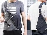 Мужская сумка через плечо, мессенджер Cross Body, фото 8
