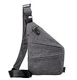 Мужская сумка через плечо, мессенджер Cross Body, фото 9