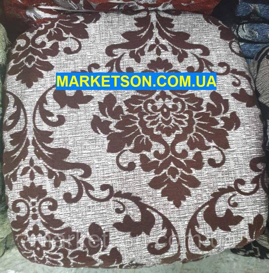 Чехлы на табуретки комплект 4 шт на резинке (сидушка на табурет, стул) №25