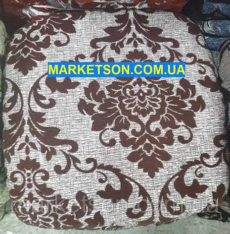 Чехлы на табуретки комплект 4 шт на резинке (сидушка на табурет, стул) №25, фото 2