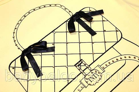 """Реглан для дівчинки """"Сумка""""(3,4,5,6 років) - арт.29168467, фото 2"""