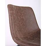 Стул полубарный COLT коричневый, фото 5