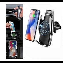 Автомобільний тримач сенсорний з функцією бездротової зарядки Penguin Smart Sensor S5