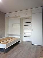Шкаф-кровать трансформер с диваном в гостиную