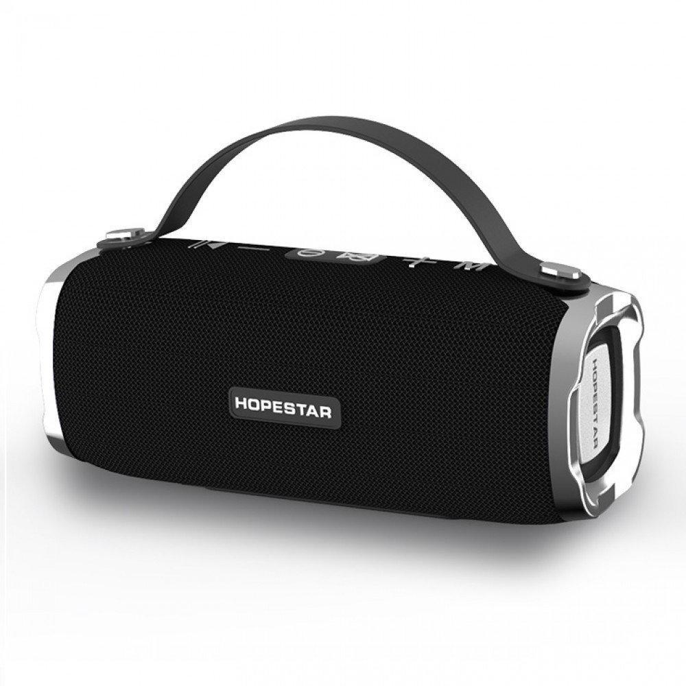 Потужна портативна стерео колонка HOPESTAR H24 Оригінал, FM, SD, Bluetooth, USB