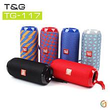 Потужна, басиста Портативна Bluetooth колонка T&G TG-117. Краща Ціна!
