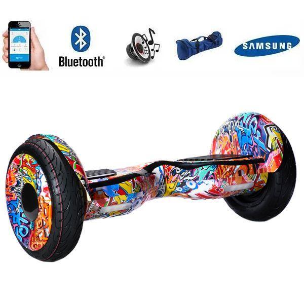 Гіроборд Smart Balance Wheel 10.5 сігвей Помаранчеве графіті