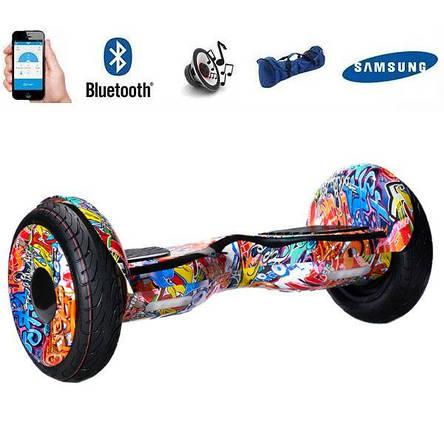 Гіроборд Smart Balance Wheel 10.5 сігвей Помаранчеве графіті, фото 2