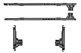 Автомобільне дзеркало відеореєстратор для авто на 2 камери VEHICLE BLACKBOX DVR 1080p камерою заднього виду., фото 3