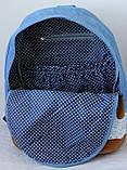 Стильний Рюкзак Міський Lace Jeans, фото 8