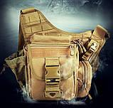 Сумка через плече на стегно штурмова тактична Battler v.1, фото 2