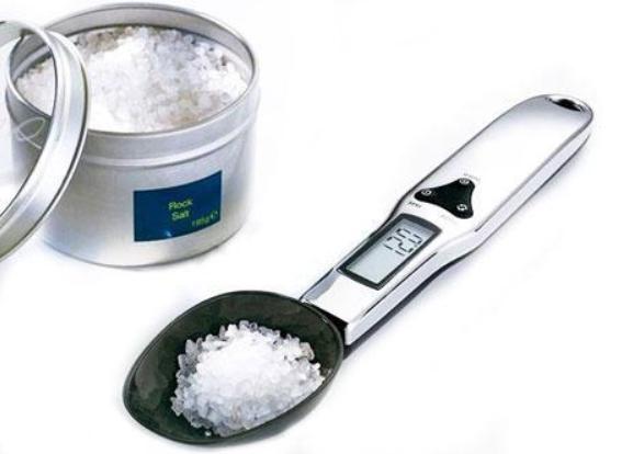 Електронна Мірна ложка-ваги Digital Scale цифрова до 500г для кухні. Висока точність!