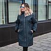 Куртки женские демисезонные больших размеров   54-60  сливовый, фото 7