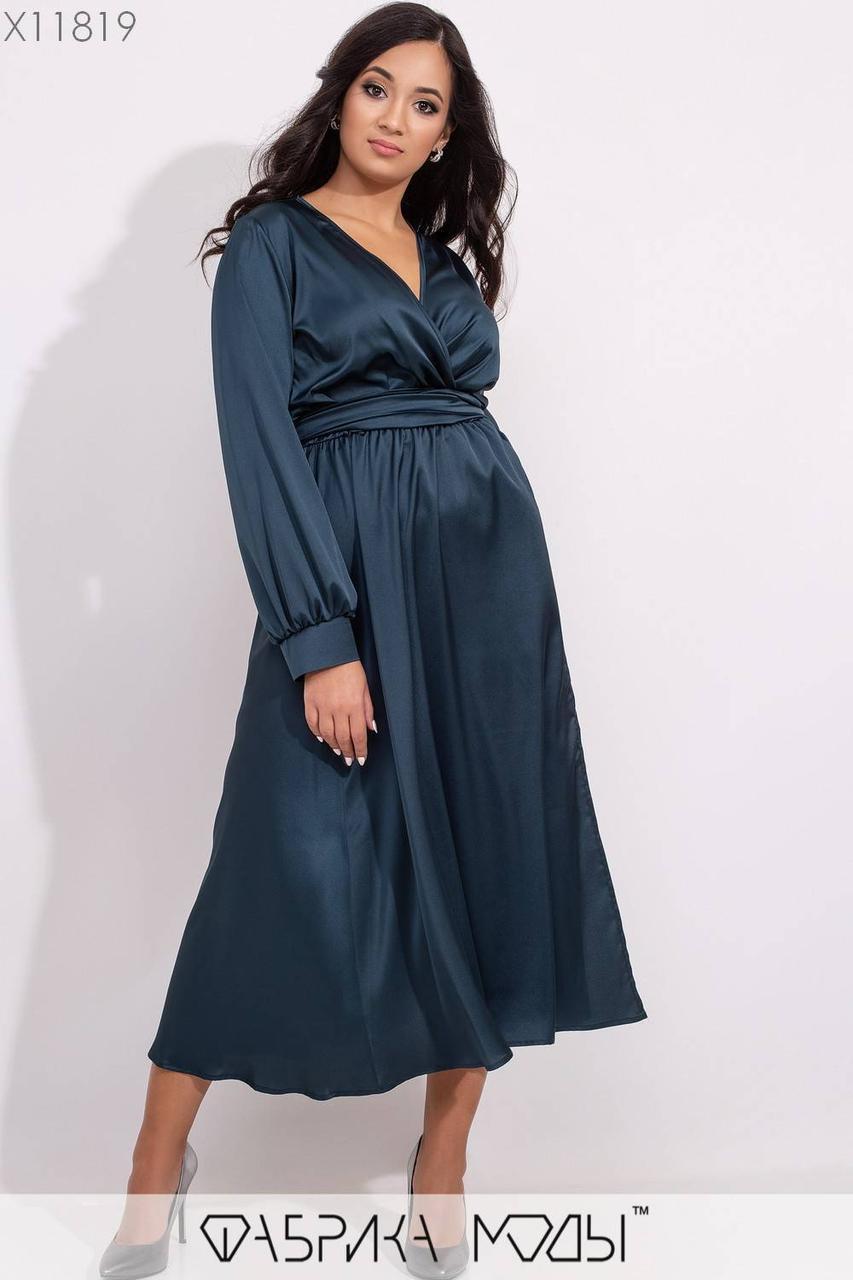 Вечернее  женское платье батал р.48-62 Фабрика Моды XL