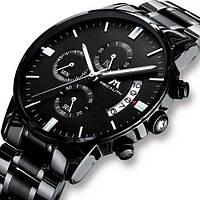 Часы наручные мужские кварцевые MEGALITH SUPER, модные мужские часы