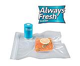 Вакуумный упаковщик для еды Vacuum Sealer Always Fresh, вакуумные пакеты для еды, фото 4