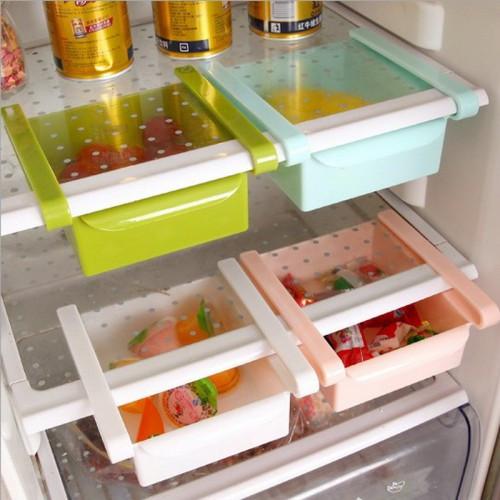 Органайзер для холодильника - поличка для зберігання продуктів Refrigerator Shelf