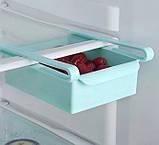 Органайзер для холодильника - поличка для зберігання продуктів Refrigerator Shelf, фото 3