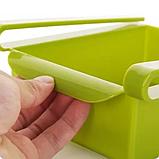 Органайзер для холодильника - поличка для зберігання продуктів Refrigerator Shelf, фото 4