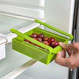 Органайзер для холодильника - поличка для зберігання продуктів Refrigerator Shelf, фото 9