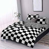 Двуспальное постельное белье Бязь Gold - В дамки
