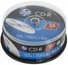 CD-R диски Hewlett-Packard Cake box 25